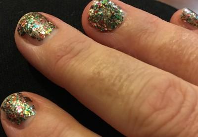 Sparkley Fingernails